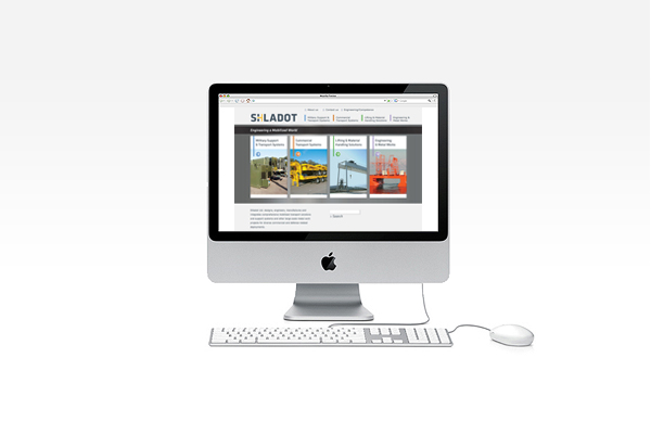 Shladot Ltd website | brand web design