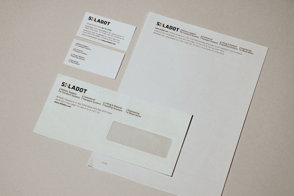 Shladot Ltd stationery | brand design