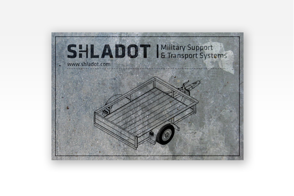 Shladot Ltd metal plaque | brand design